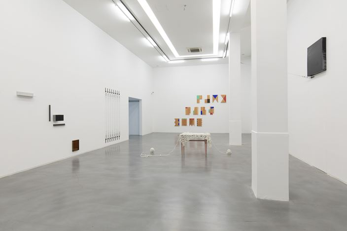 Exhibition view: Koshimizu Susumu, Haraguchi Noriyuki, PolyChord, Asia Art Center, Shanghai (30 May–26 July 2020). Courtesy Asia Art Center.