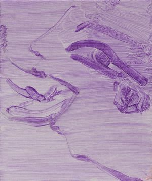 Blowjob Tears by Sofia Mitsola contemporary artwork painting, works on paper