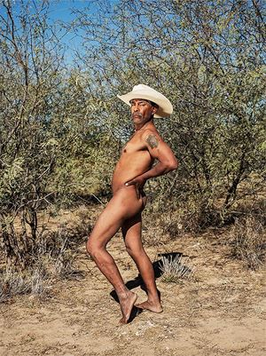 The Mirthful Cowboy, Oaxaca de Juárez by Pieter Hugo contemporary artwork