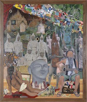 Fabricated Sanctum by Kawayan de Guia contemporary artwork