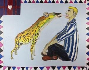 Paradise No. 6 (Hyena) by Carla Busuttil contemporary artwork