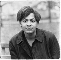 Black boy, Washington Square Park, N.Y.C. 1965 by Diane Arbus contemporary artwork photography