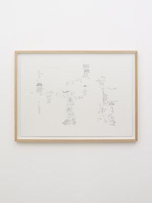 Le lieu (zolla 1) by Gianfranco Baruchello contemporary artwork