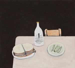 Beef Brisket on rye, Katz's NY $16.95 US by Noel McKenna contemporary artwork