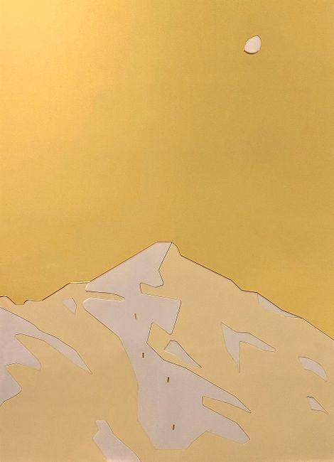 Mount Shahdagh by Orkhan Huseynov contemporary artwork