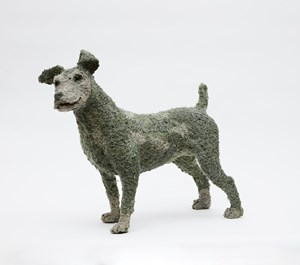 Standing Dog by Sue Ryan contemporary artwork