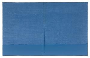 """Horizon bleu"" by Geneviève Asse contemporary artwork"