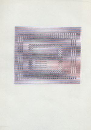 Untitled by Dom Sylvester Houédard contemporary artwork