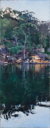 Day's End, Smiths Creek (Hawkesbury 13) by A.J. Taylor contemporary artwork painting