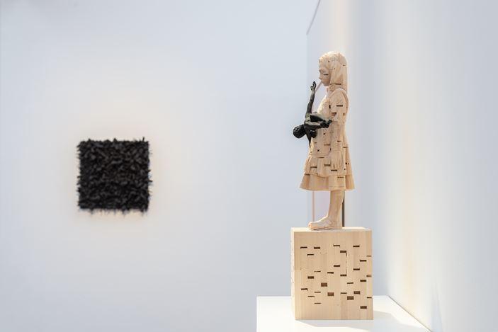 Exhibition view: Group Exhibition, IDENTITIES, Beck & Eggeling International Fine Art, Düsseldorf (17 November 2020–30 January 2021). Courtesy Beck & Eggeling International Fine Art.