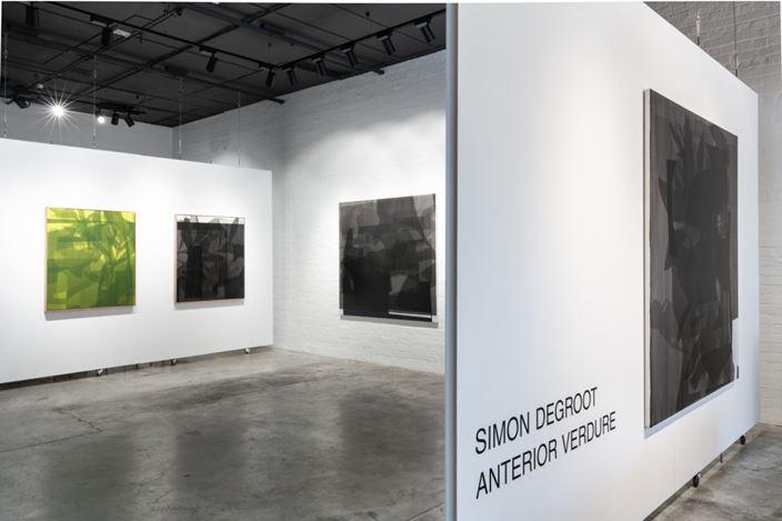 Exhibition view: Simon Degroot, Anterior Verdure,THIS IS NO FANTASY dianne tanzer + nicola stein (1 March–22 March 2019). Courtesy THIS IS NO FANTASY dianne tanzer + nicola stein.