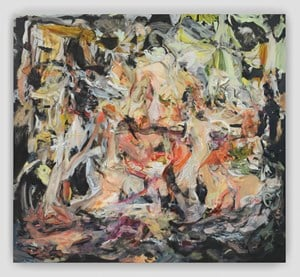 All Nights Are Days by Cecily Brown contemporary artwork