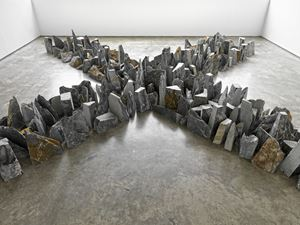 Four Ways by Richard Long contemporary artwork