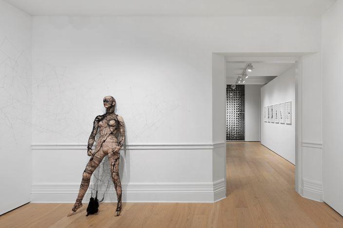 Exhibition view: Annegret Soltau, Spider, Richard Saltoun Gallery, London (21 February–30 June 2020). Courtesy Richard Saltoun Gallery.