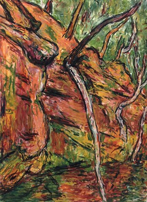 Fallen  Tree Audley by Tony Costa contemporary artwork