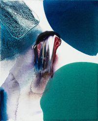 Phenomena Hamlet The Dane by Paul Jenkins contemporary artwork painting