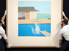 London Auction Sales Down Despite $30m Hockney Splash