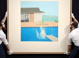 London Auction Sales Down Despite $30m Hockney Splash