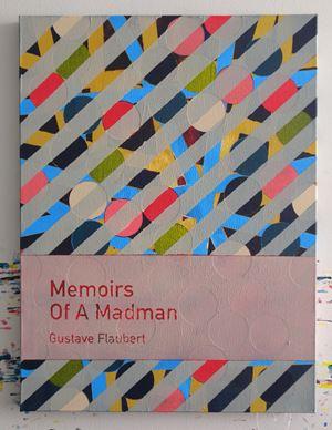 Memoirs of a Madman / Gustave Flaubert by Heman Chong contemporary artwork