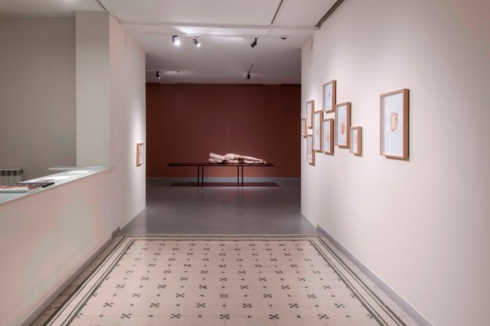 Exhibition view: Yaşam Şaşmazer, either/or, Zilberman, Istanbul (2 April–29 May 2021). Courtesy Zilberman.