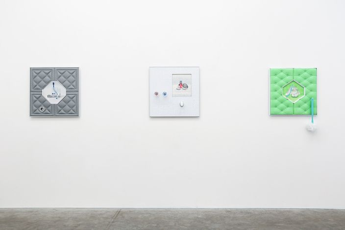 Exhibition view: Emily Hartley-Skudder, Germfree Adolescents, Jonathan Smart Gallery (9 March–10 April 2021). Courtesy Jonathan Smart Gallery.
