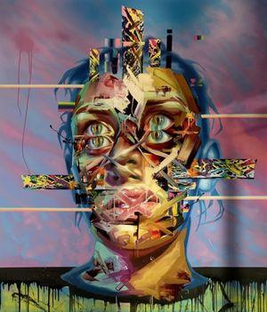 Faith Healer I by Justin Bower contemporary artwork