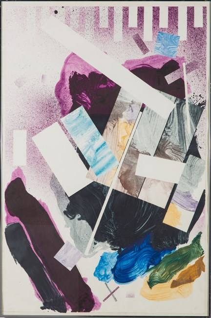 Plum Nellie, Vertical Hold by Robert Reed contemporary artwork
