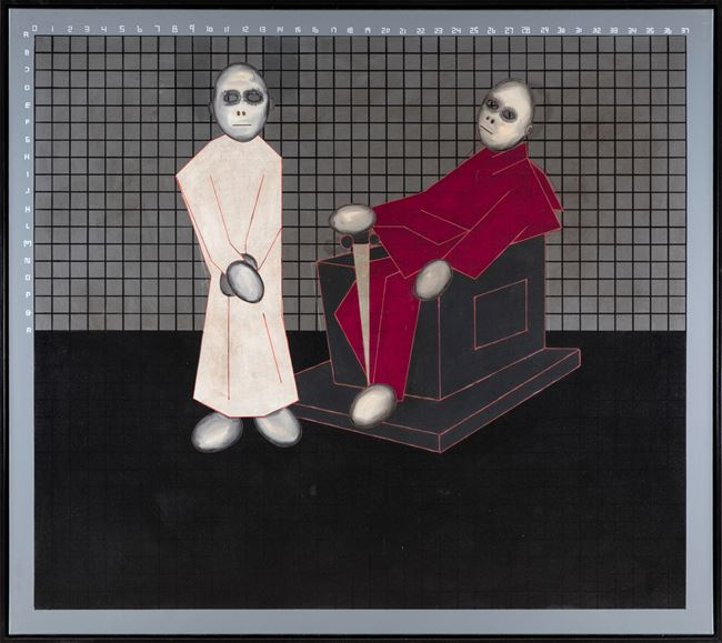 5. A.O.: There is balance between the right to respect and tolerance (unequal relationship) by Thomas Zipp contemporary artwork