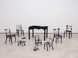 Remains of the day by Mona Hatoum contemporary artwork