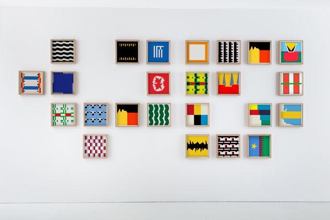 Flag Factory 3 by Samson Kambalu contemporary artwork