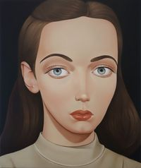 Liliane Fatima Silva, 1996 by Peter Stichbury contemporary artwork painting