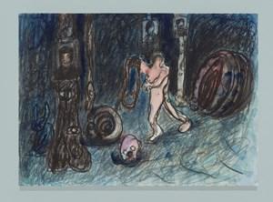 Snake Hunting by Qiu Xiaofei contemporary artwork