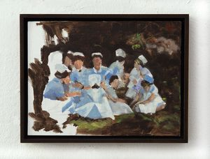 The gathering (small) by Helena Parada Kim contemporary artwork