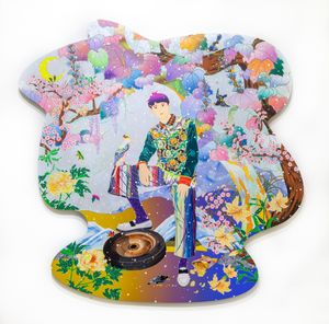 Attitude Adjustment Tonight by Tomokazu Matsuyama contemporary artwork