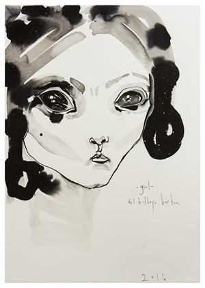 Girl by Del Kathryn Barton contemporary artwork