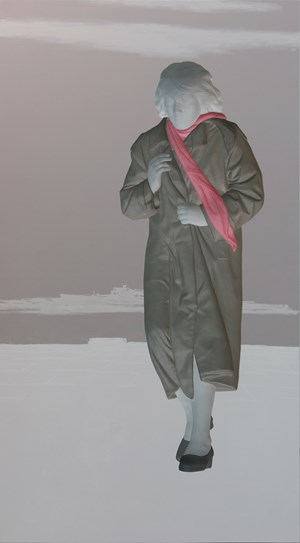 Walking 072783 by Lee Yong Deok contemporary artwork