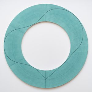 Ring Image C by Robert Mangold contemporary artwork