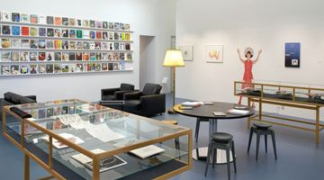 Contemporary art exhibition, 101 Contemporary Art Books Parkett at The Swiss National Library, Zurich Exhibition Space, Switzerland