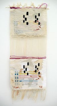 E by Ingrid Wiener contemporary artwork textile