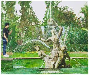 Spray Fountain by Zhu Jia contemporary artwork