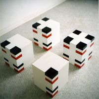 Skulptur 1 by Fritz Klingbeil contemporary artwork sculpture