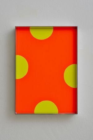 Fluo cut #22 by Regine Schumann contemporary artwork