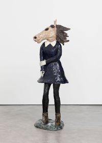 Restless by Klara Kristalova contemporary artwork sculpture