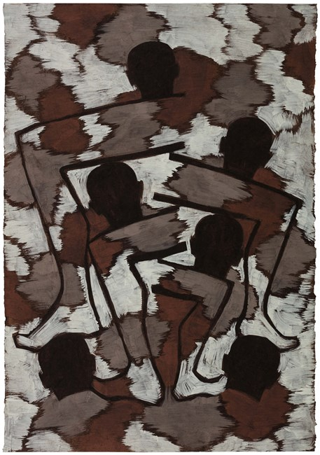 The Second Painting Drawn after Dreaming a Marathon by Tang Maohong contemporary artwork