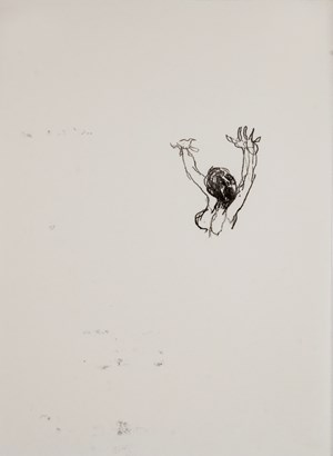 Unstuck by Misheck Masamvu contemporary artwork works on paper