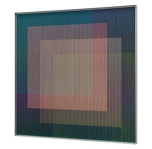 Physichrome Panam 316 by Carlos Cruz-Diez contemporary artwork