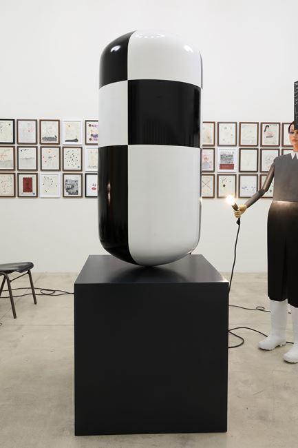 Big Checkered Pill by Thomas Zipp contemporary artwork