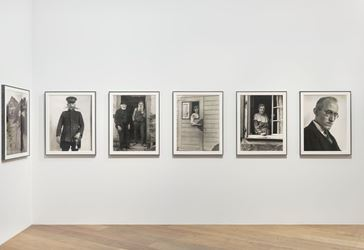 Exhibition view: August Sander, Men Without Masks, Hauser & Wirth, London(18 May–28 July 2018). Courtesy Hauser & Wirth.