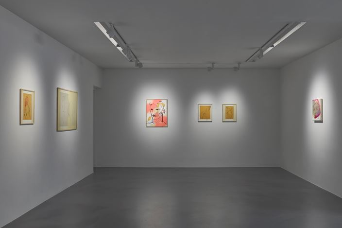 Exhibition view: France-Lise McGurn, Percussia, Simon Lee Gallery, London (24 January–22 February 2020). Courtesy the artist and Simon Lee Gallery. Photo: Ben Westoby.