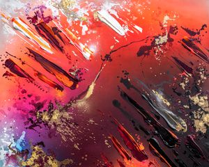 GLOWING EMBERS #2 by Mikael B contemporary artwork